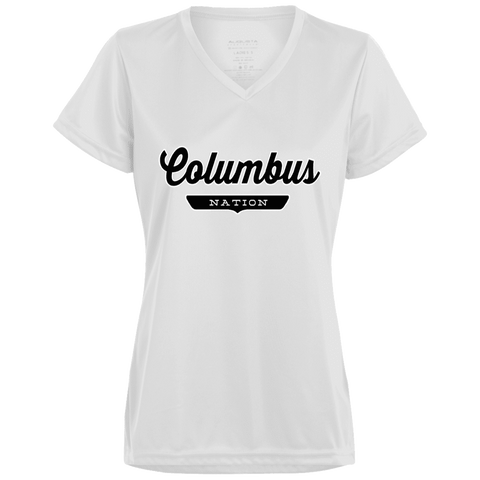 Columbus Women's T-shirt - The Nation Clothing