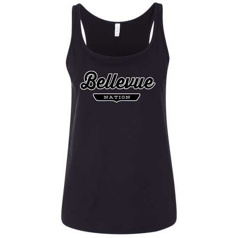 Bellevue Women's Tank Top - The Nation Clothing