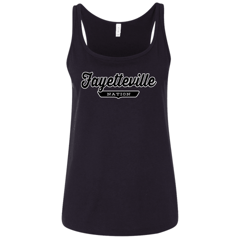 Fayetteville Women's Tank Top - The Nation Clothing