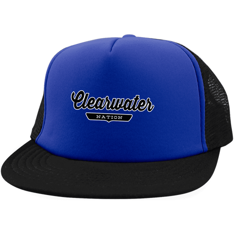 Clearwater Trucker Hat with Snapback - The Nation Clothing