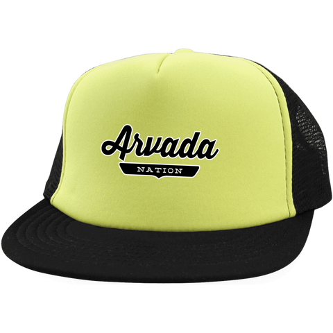 Arvada Trucker Hat with Snapback - The Nation Clothing
