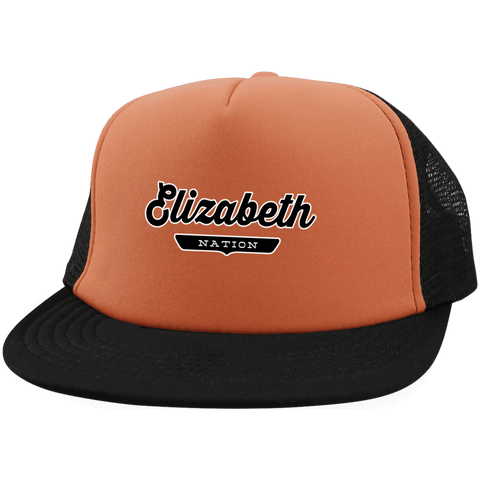 Elizabeth Trucker Hat with Snapback - The Nation Clothing