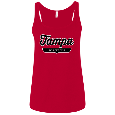 Tampa Women's Tank Top - The Nation Clothing