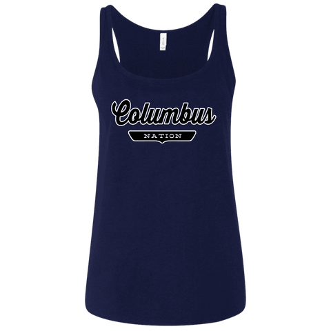 Columbus Women's Tank Top - The Nation Clothing