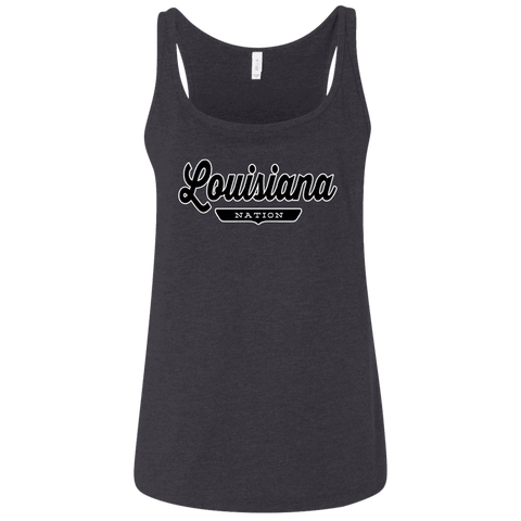 Louisiana Women's Tank Top - The Nation Clothing