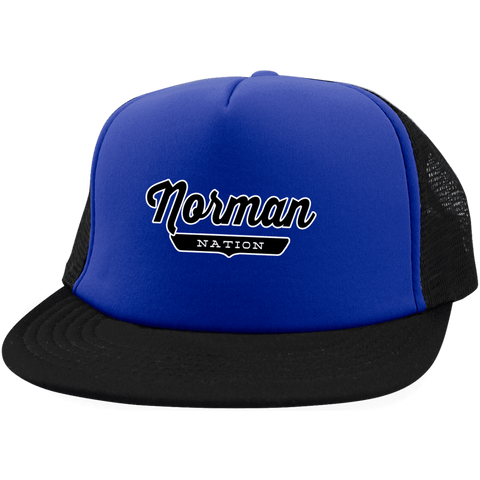 Norman Trucker Hat with Snapback - The Nation Clothing