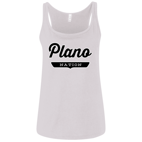 Plano Women's Tank Top - The Nation Clothing