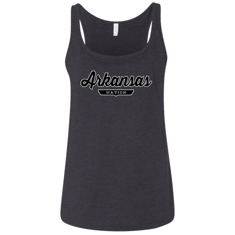 Arkansas Women's Tank Top - The Nation Clothing