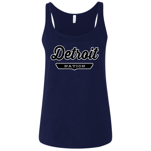 Detroit Women's Tank Top - The Nation Clothing