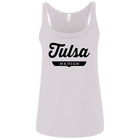 Tulsa Women's Tank Top - The Nation Clothing