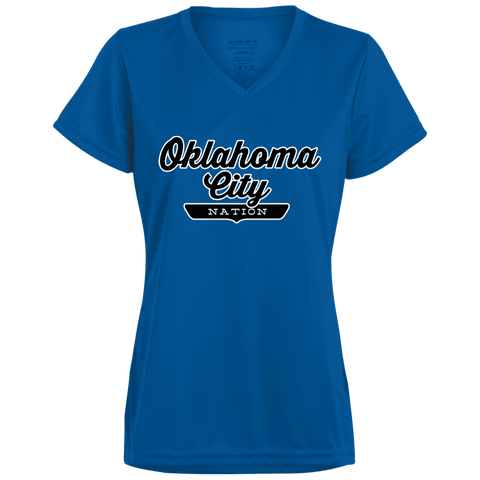 Oklahoma City Women's T-shirt - The Nation Clothing