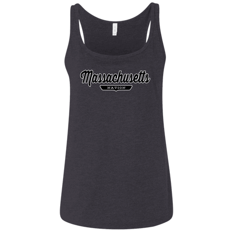 Massachusetts Women's Tank Top - The Nation Clothing
