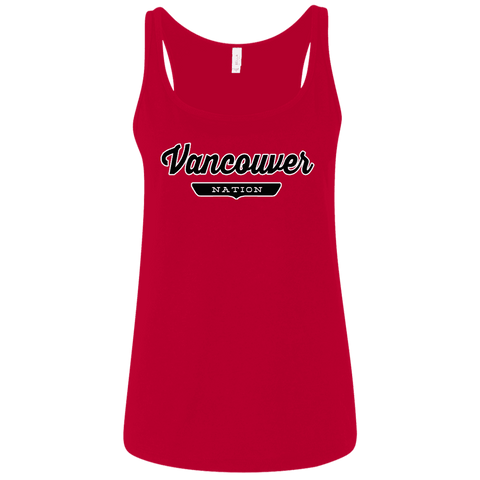 Vancouver Women's Tank Top - The Nation Clothing