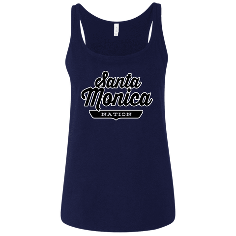 Santa Monica Women's Tank Top - The Nation Clothing