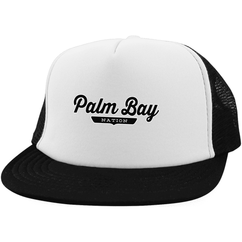 Palm Bay Trucker Hat with Snapback - The Nation Clothing