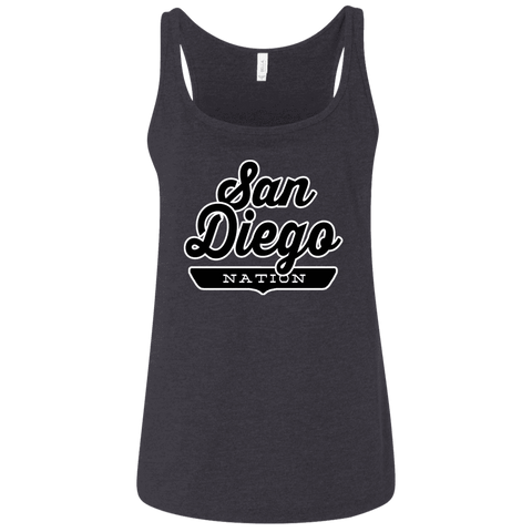 San Diego Women's Tank Top - The Nation Clothing
