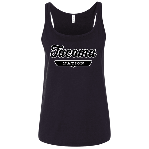 Tacoma Women's Tank Top - The Nation Clothing