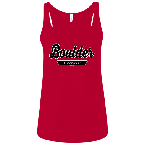 Boulder Women's Tank Top - The Nation Clothing