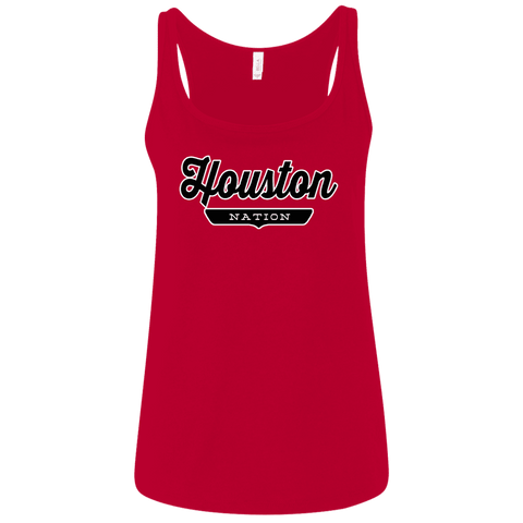 Houston Women's Tank Top - The Nation Clothing
