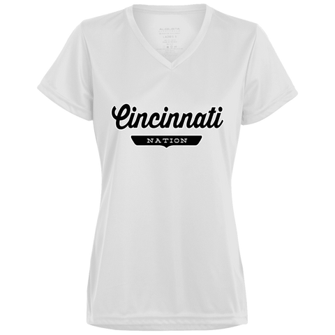 Cincinnati Women's T-shirt - The Nation Clothing