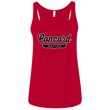 Concord Women's Tank Top - The Nation Clothing