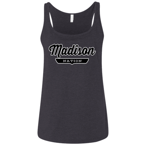 Madison Women's Tank Top - The Nation Clothing