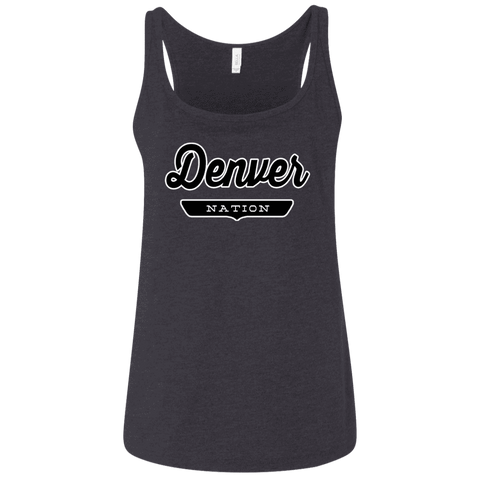 Denver Women's Tank Top - The Nation Clothing