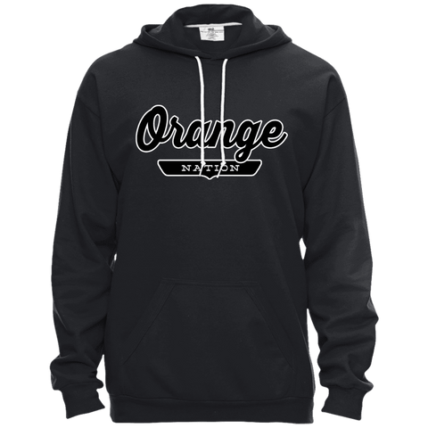 Orange Hoodie - The Nation Clothing