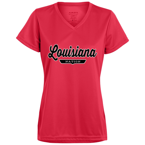 Louisiana Women's T-shirt - The Nation Clothing