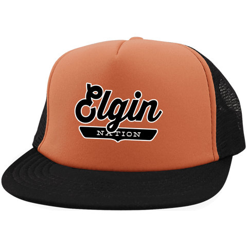 Elgin Trucker Hat with Snapback - The Nation Clothing