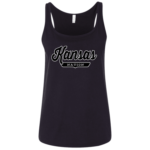 Kansas Women's Tank Top - The Nation Clothing