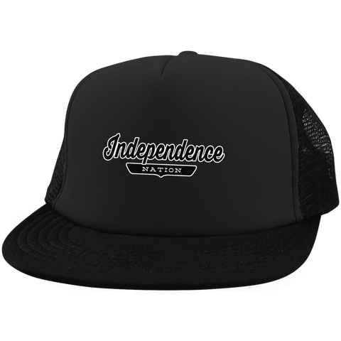 Independence Trucker Hat with Snapback - The Nation Clothing