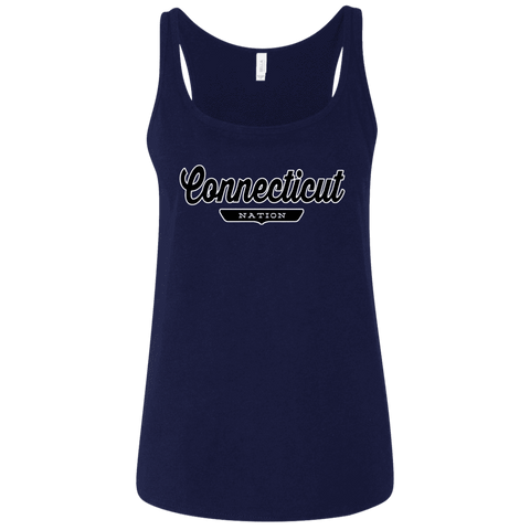 Connecticut Women's Tank Top - The Nation Clothing