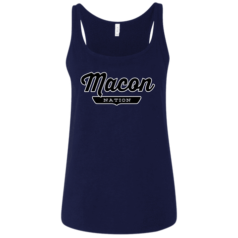 Macon Women's Tank Top - The Nation Clothing