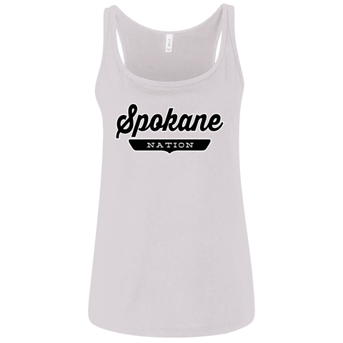 Spokane Women's Tank Top - The Nation Clothing