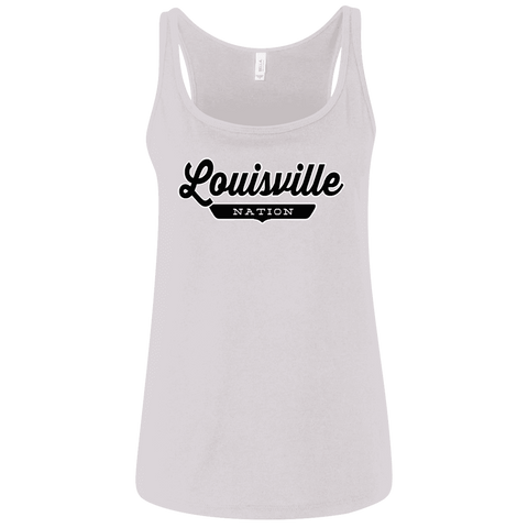 Louisville Women's Tank Top - The Nation Clothing