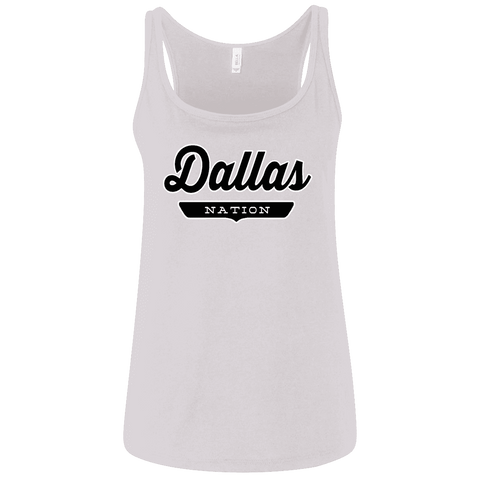 Dallas Women's Tank Top - The Nation Clothing