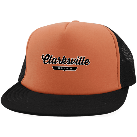 Clarksville Trucker Hat with Snapback - The Nation Clothing