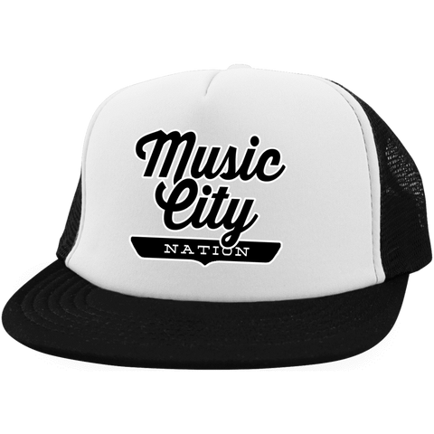 Music City Trucker Hat with Snapback - The Nation Clothing