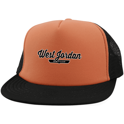 West Jordan Trucker Hat with Snapback - The Nation Clothing