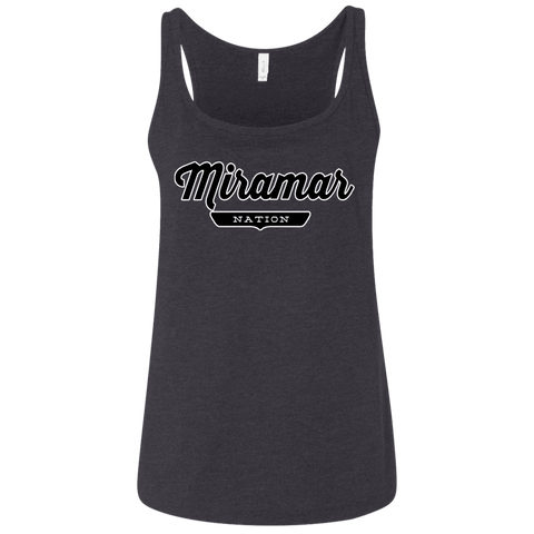 Miramar Women's Tank Top - The Nation Clothing