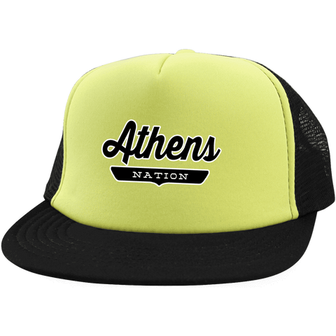 Athens Trucker Hat with Snapback - The Nation Clothing