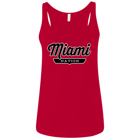 Miami Women's Tank Top - The Nation Clothing