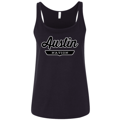 Austin Women's Tank Top - The Nation Clothing