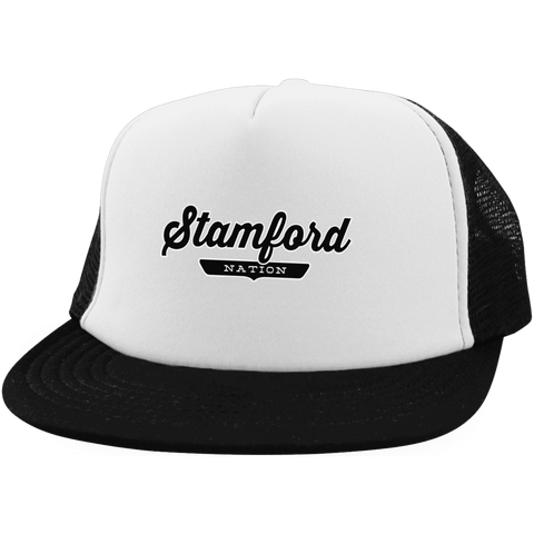 Stamford Trucker Hat with Snapback - The Nation Clothing
