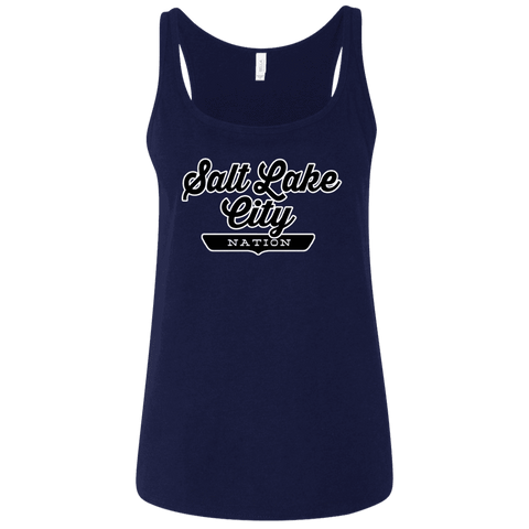 Salt Lake City Women's Tank Top - The Nation Clothing