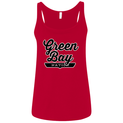 Green Bay Women's Tank Top - The Nation Clothing