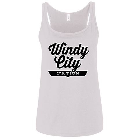 Windy City Nation Women's Tank Top - The Nation Clothing