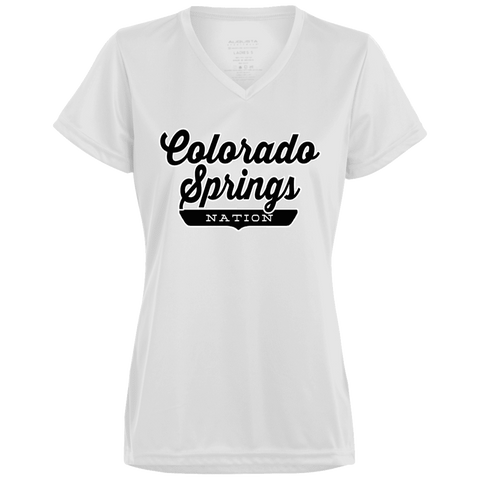 Colorado Springs Women's T-shirt - The Nation Clothing
