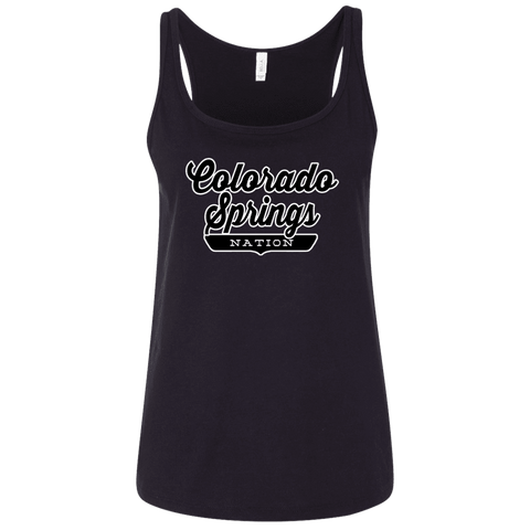 Colorado Springs Women's Tank Top - The Nation Clothing